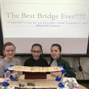 Grade 6 Bridges- they all held 1,000 grams! photo album thumbnail 3